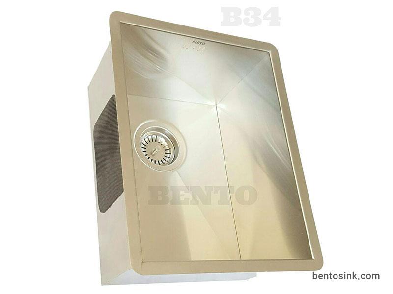 سینک ظرفشویی بنتو مدل B34 استیل