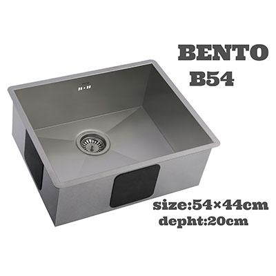 سینک ظرفشویی بنتو مدل B54 استیل