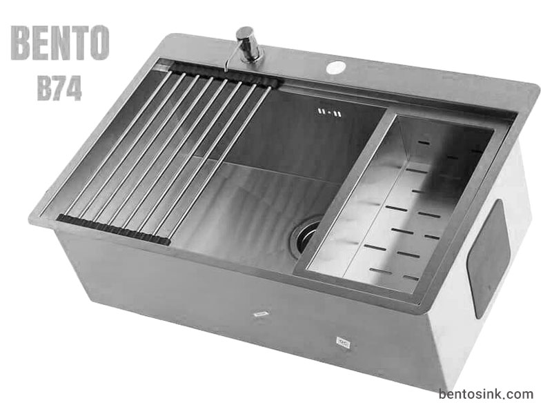 سینک ظرفشویی بنتو مدل B74 استیل
