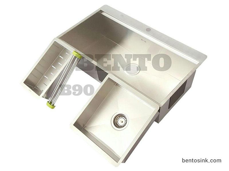 سینک ظرفشویی بنتو مدل B90 استیل