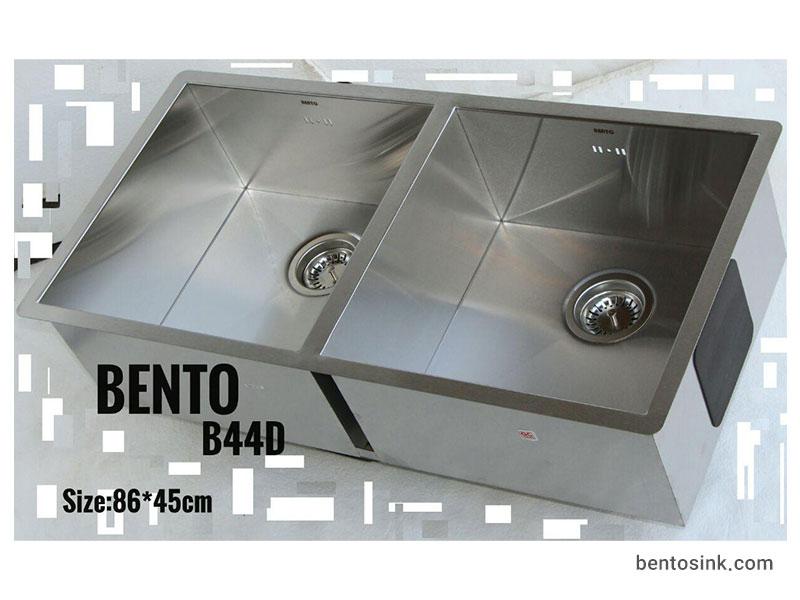 سینک ظرفشویی بنتو مدل B44D استیل