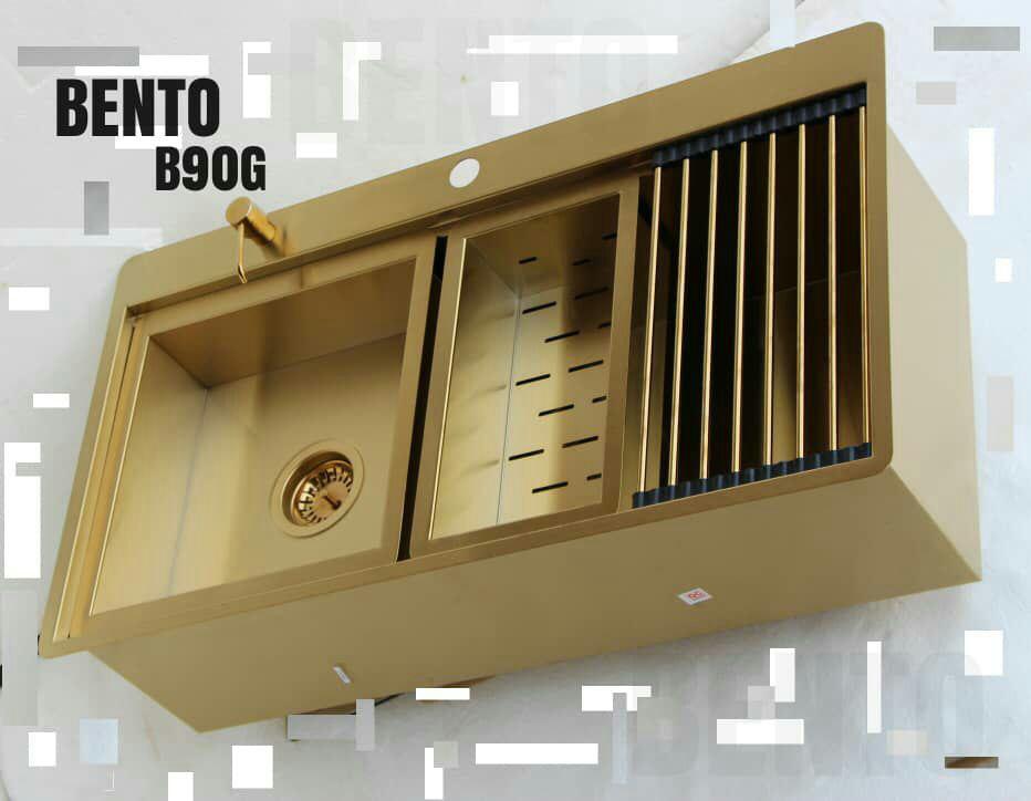 سینک بنتو B90 طلایی