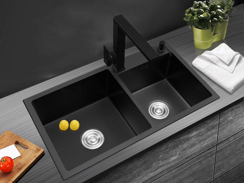 راهنمای خرید سینک ظرفشویی - سینک مشکی