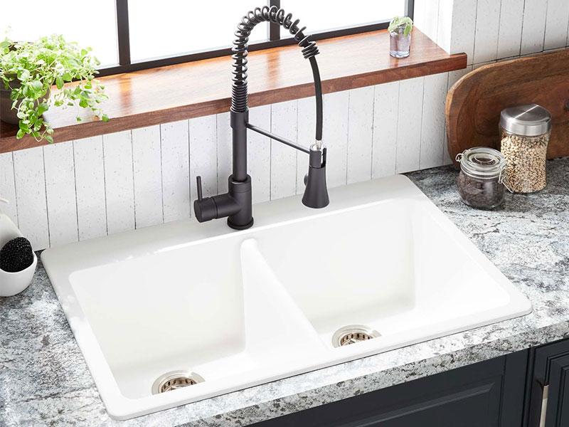 راهنمای خرید سینک ظرفشویی - سینک گرانیتی
